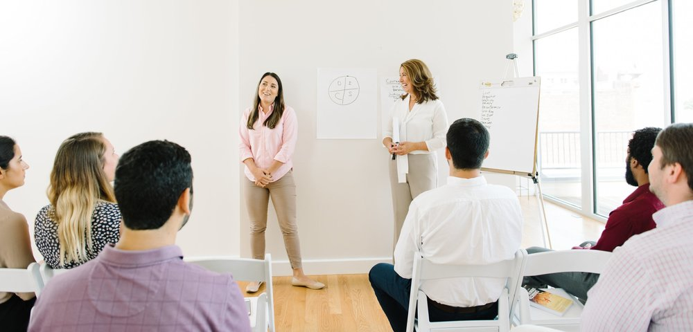 training, speaking and group facilitation -