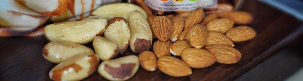 Nuts closeup
