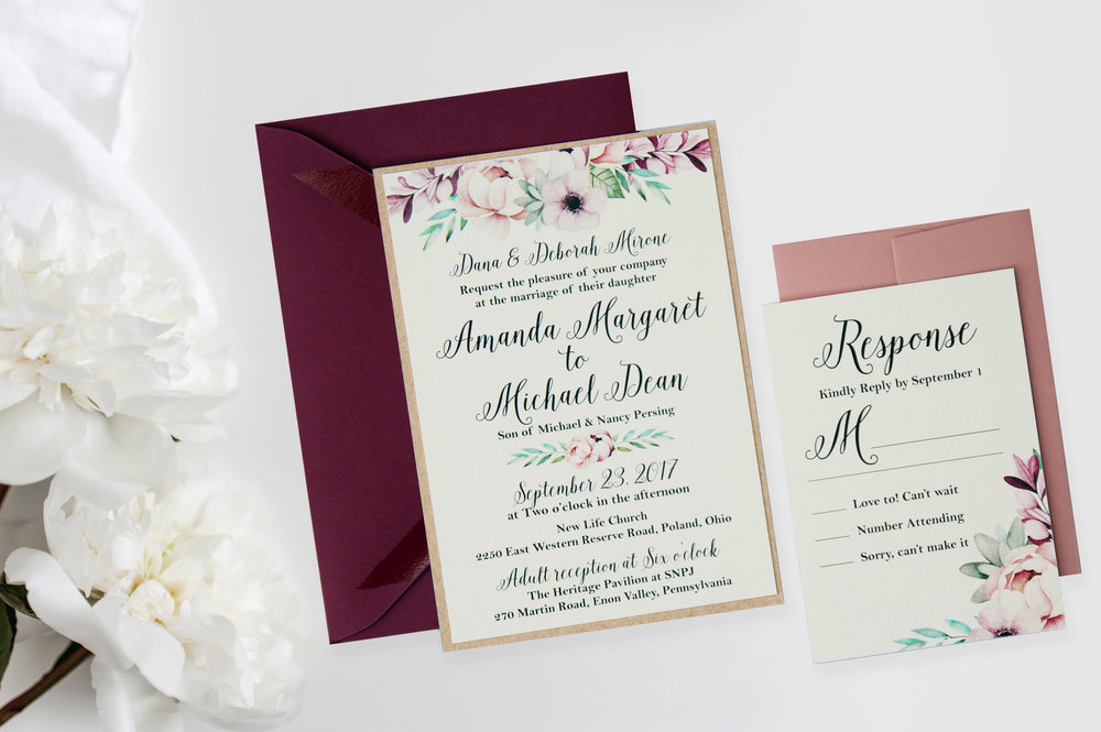 Burgundy watercolor wedding invitation.jpg