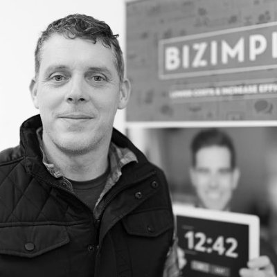 Gerard Forde, Co-Founder & CEO, Bizimply    Topic:  Staff management through iOS