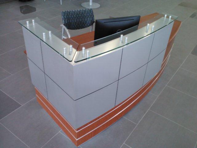 Custom Millwork Reception Desk