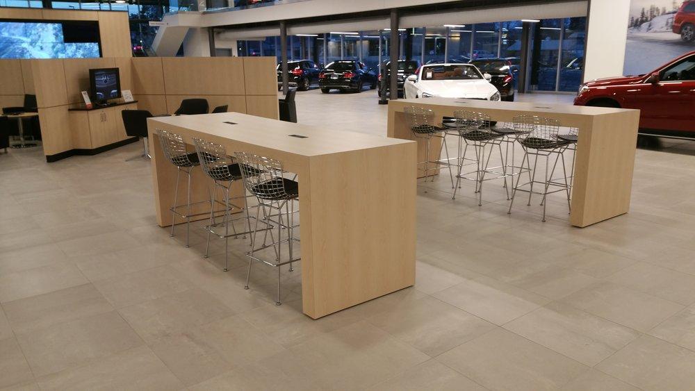 Custom Millwork Tables