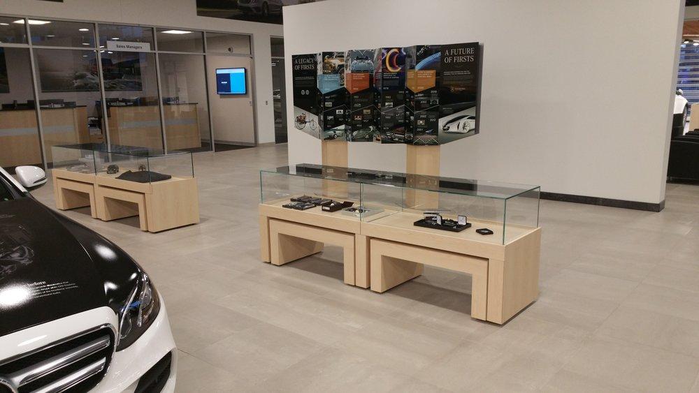 Custom Millwork Coffee Tables Sales Environment