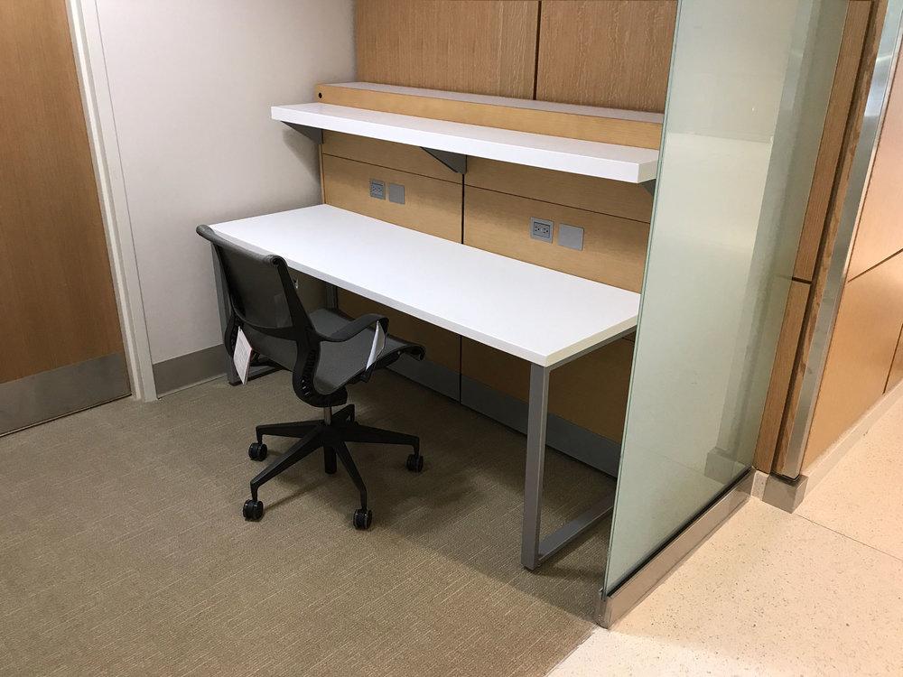 Custom Millwork Study Station