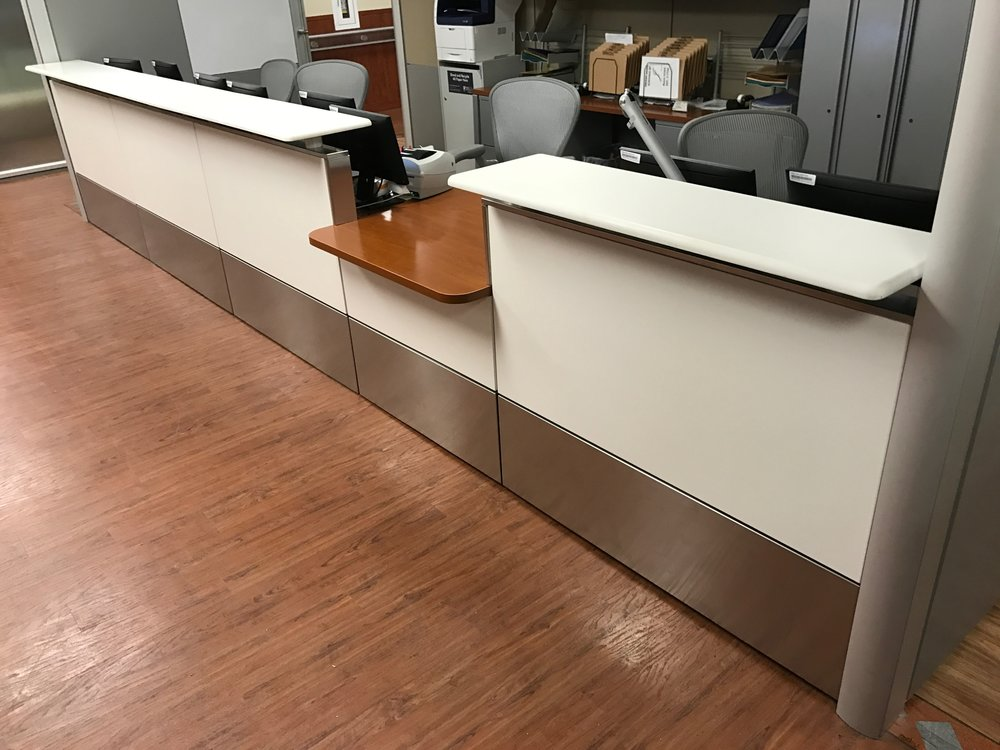 Stainless Trim for Ethospace Herman Miller