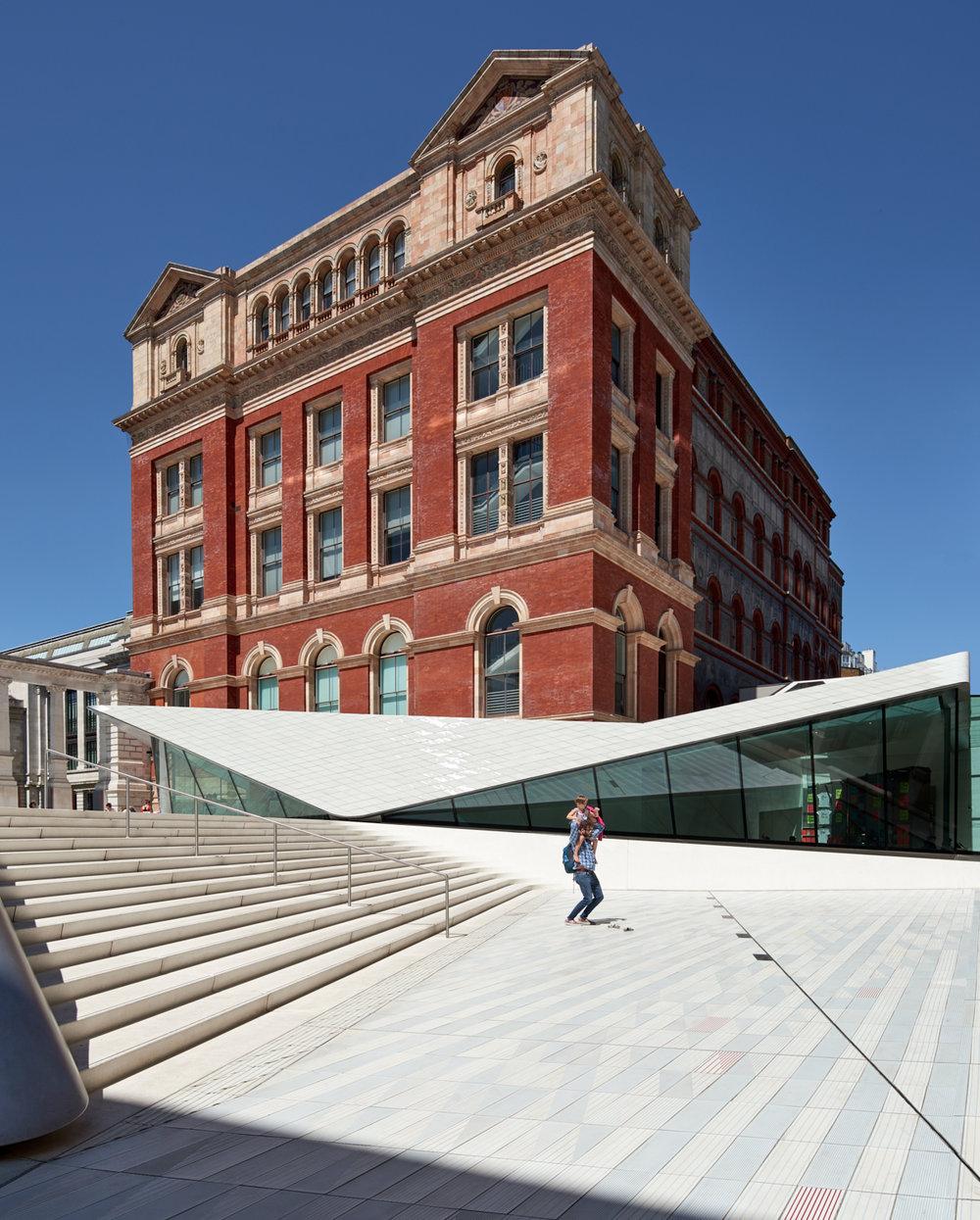 V&A Exhibition Road Quarter, London, UK, 2017