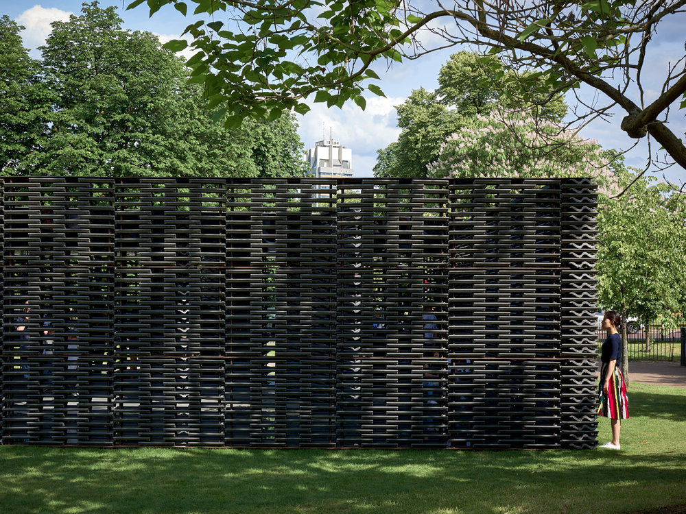 2018 Serpentine Pavillion, London, UK, 2018
