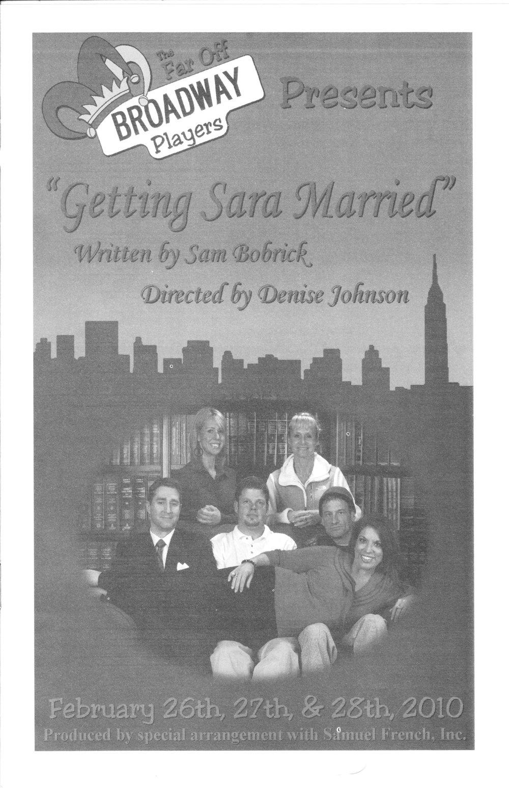 Getting Sara Marriedcover.jpg