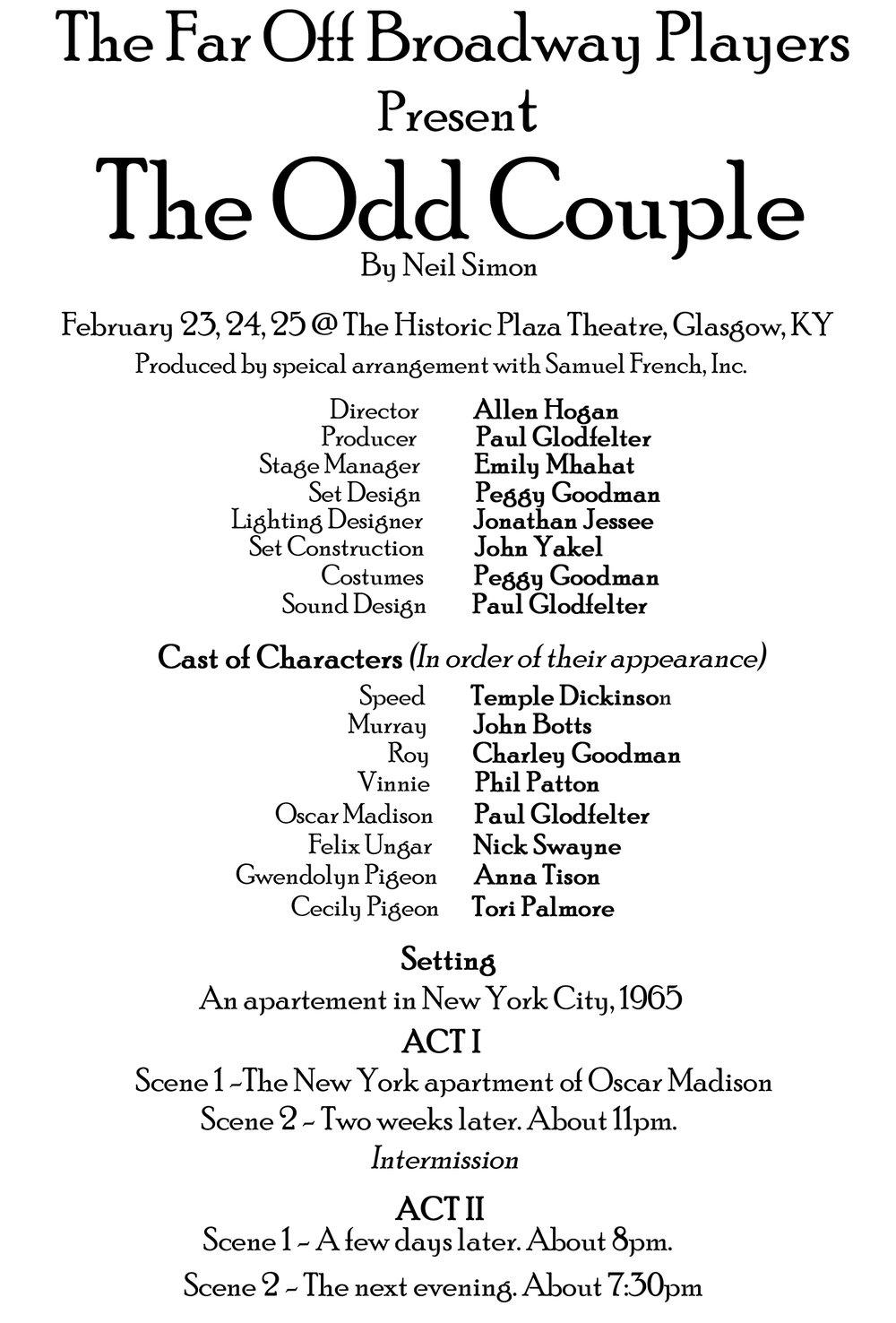 The Odd Couple Program Inside.jpg
