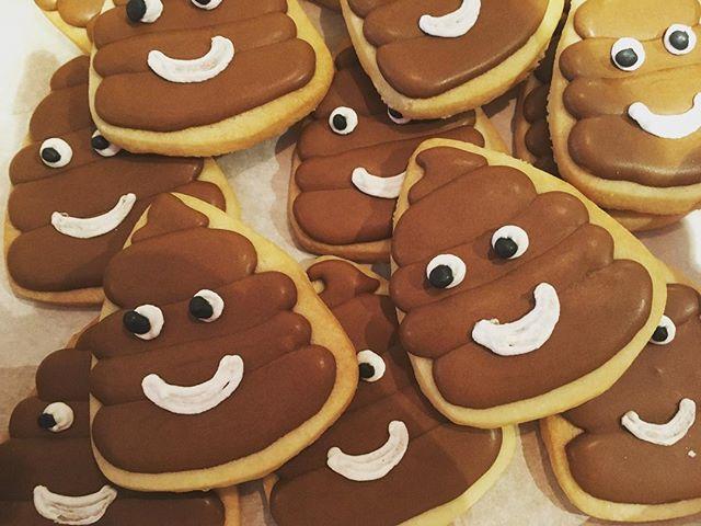 #poopemoji #poopcookies