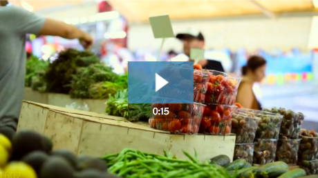 10. Is your organization's work centered around food or local farming? This bright and engaging video template is the perfect way to share your message, promote an upcoming event, or recruit new volunteers.