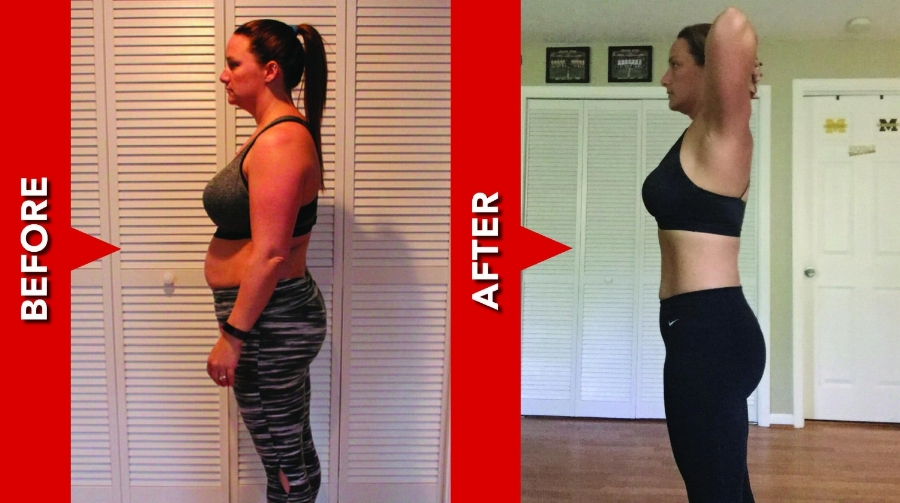 Jessica lost 17.5 in & 16.6 lbs
