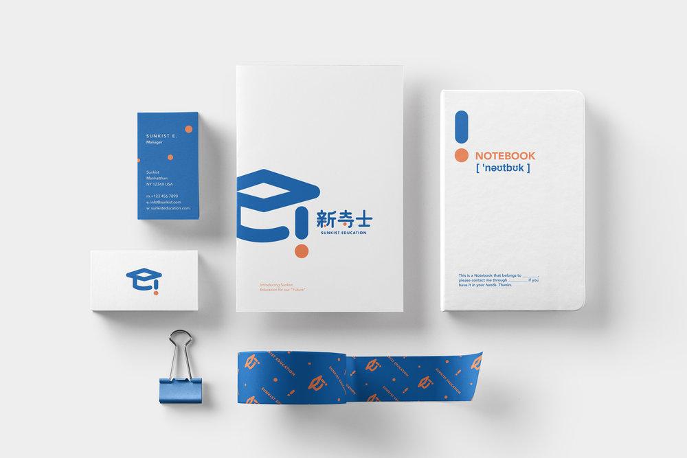 Sunkist Education |  Logo Design