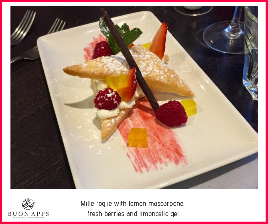 Mille foglie with lemon mascarpone, fresh berries and limoncello gel..png