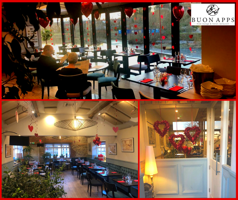 Valentine's Day at Buon Apps -