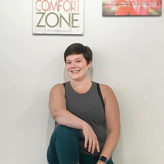 "Hi! I'm your coach, Madison. - I'm a prenatal and postnatal fitness specialist, a DONA trained birth doula, and a mom myself. My passion is helping moms find their power through all of the changes that pregnancy, birth, postpartum, and motherhood bring. When I say ""find you power"", what I really mean is helping you fit exercise into your life in a way that is do-able, sustainable, and helps you feel strong and giving you the support and courage to tackle everyday life with more confidence."