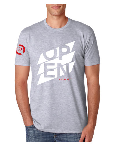 SHOP: Men's Grey Tee