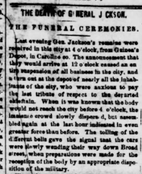 Richmond Dispatch , May 12, 1863