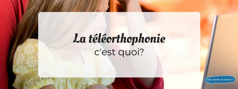 teleorthophonie