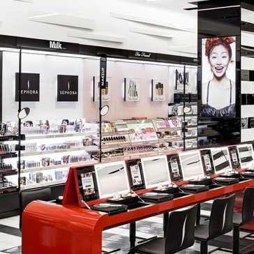 STORE CONCEPT OF THE YEAR: SEPHORA - Retailers have been opening new store concepts at a furious pace as they strive to make brick-and-mortar fun again. (via Retail Dive)