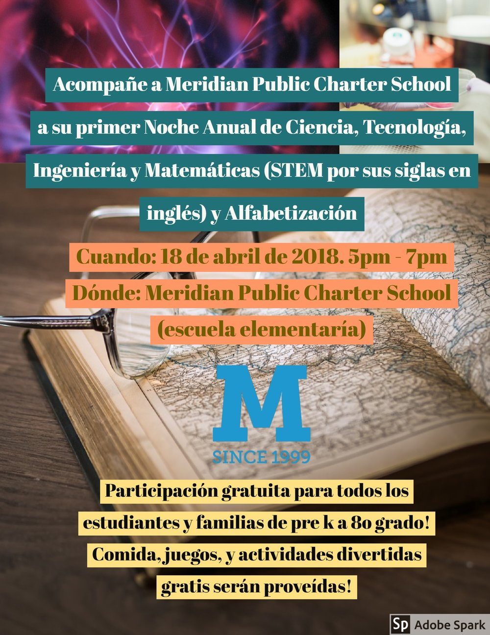 STEM and Literacy night Spanish flyer.jpg