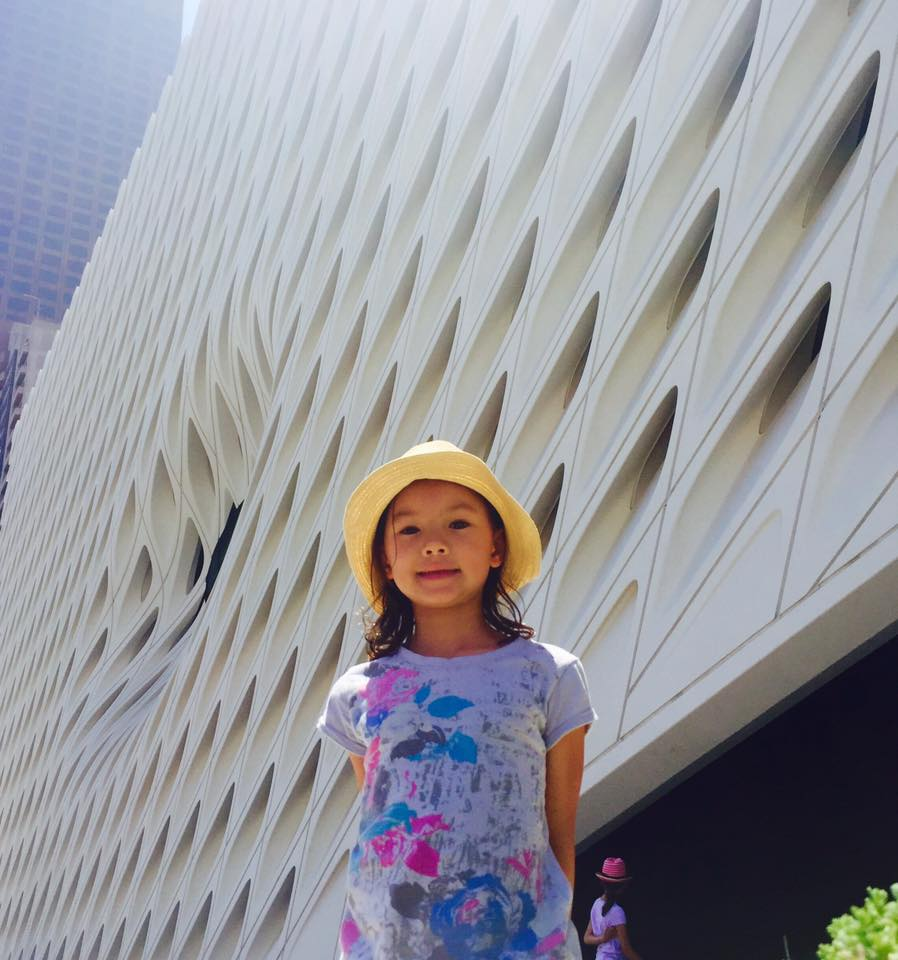 Really cool architecture at the Broad.