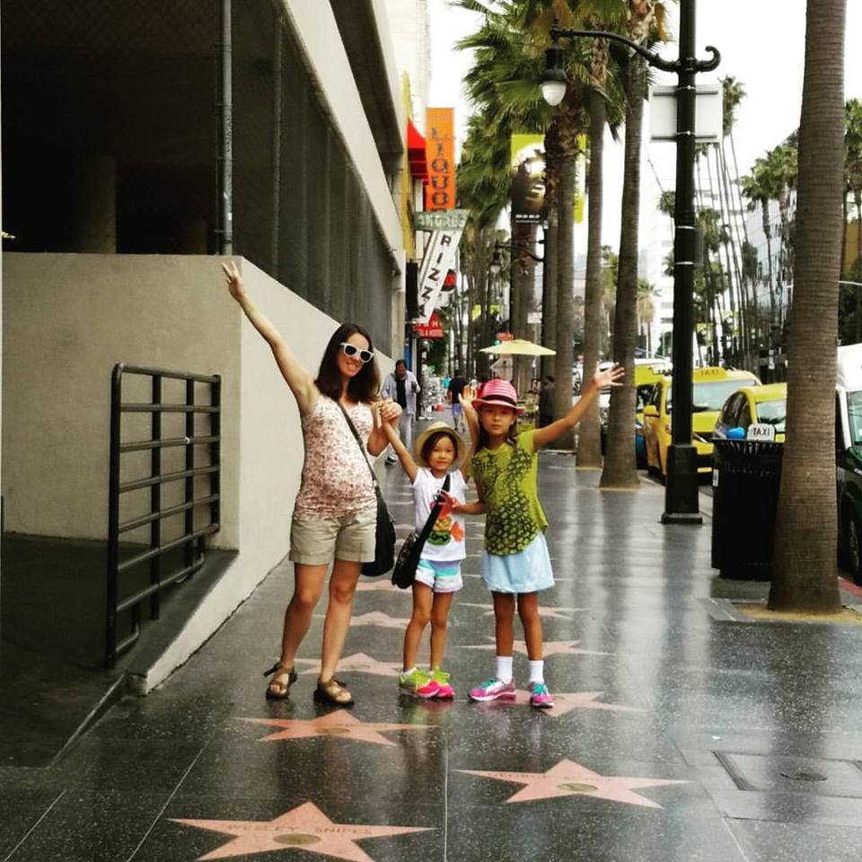 Hollywood Walk with kids - Los Angeles