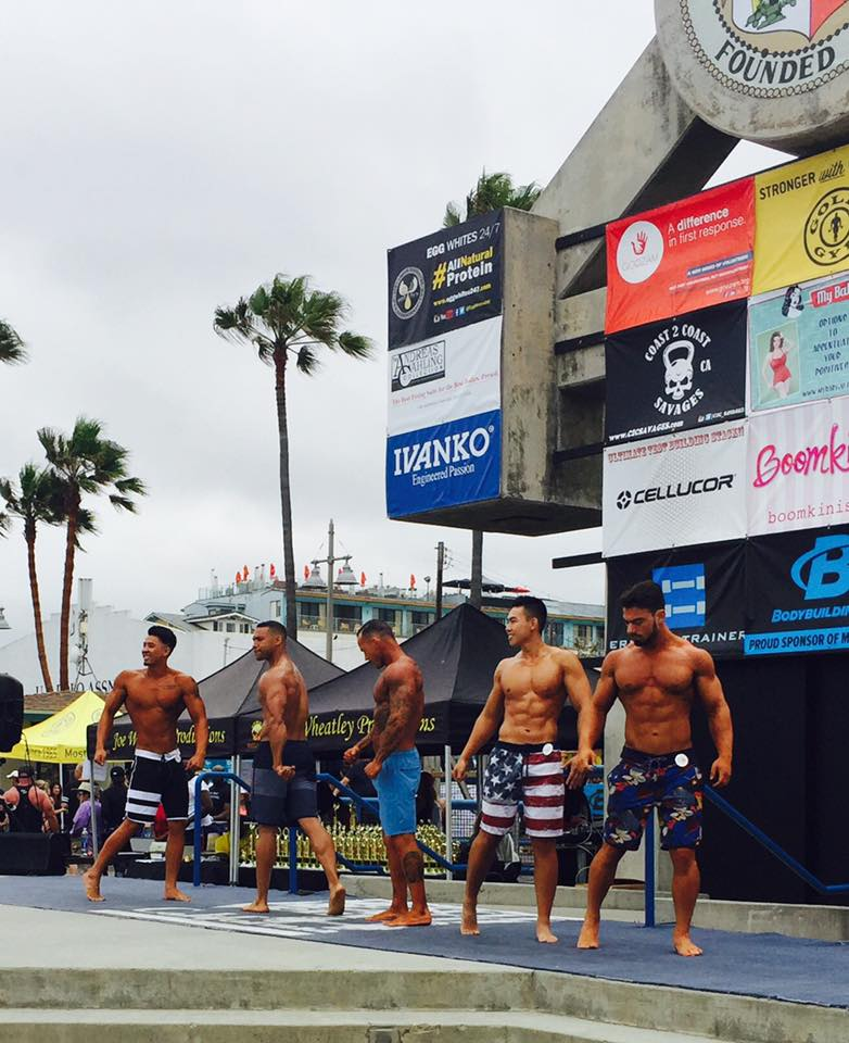 Mr. and Mrs. Muscle Beach Competition - Los Angeles