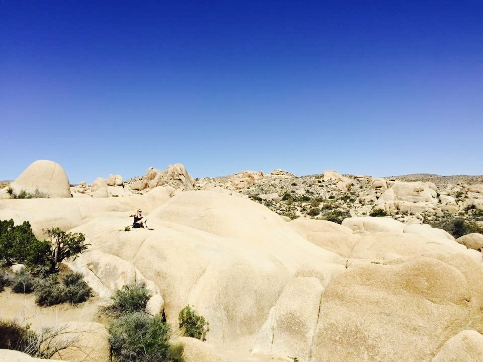 Rock Scrambling in Joshua Tree National Park