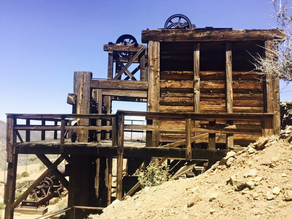 The hike also includes a 19th century gold mine