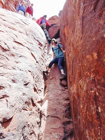 Rock Scrambling - Bell Rock - Sedona, AZ