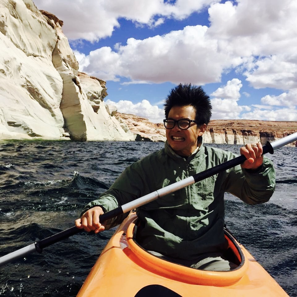 Kayaking on Lake Powell - Page, AZ