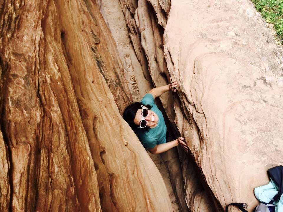 Hidden Canyon Trail - Zion National Park - Slot Canyon