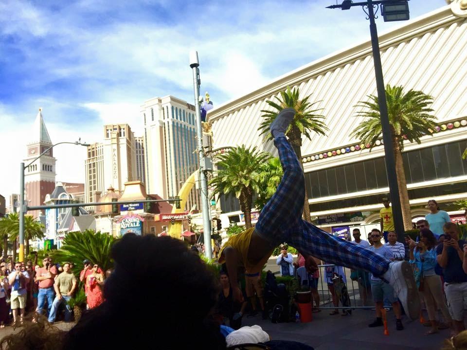 Las Vegas Street Performers