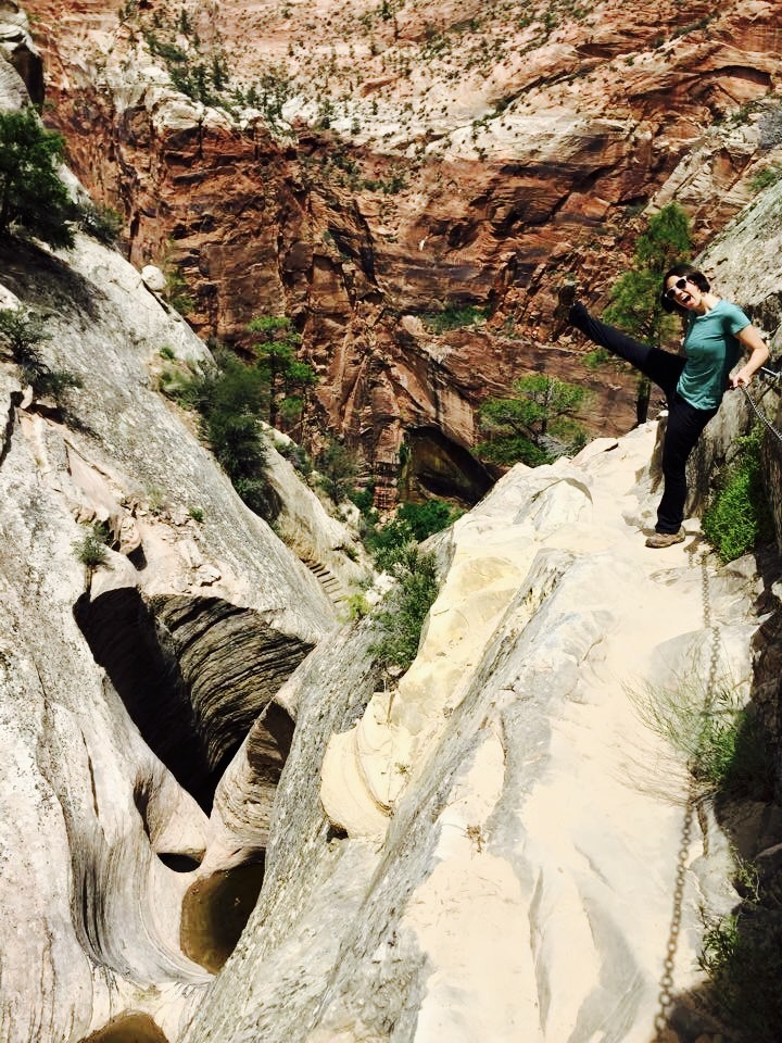 Hidden Canyon Trail - Zion National Park