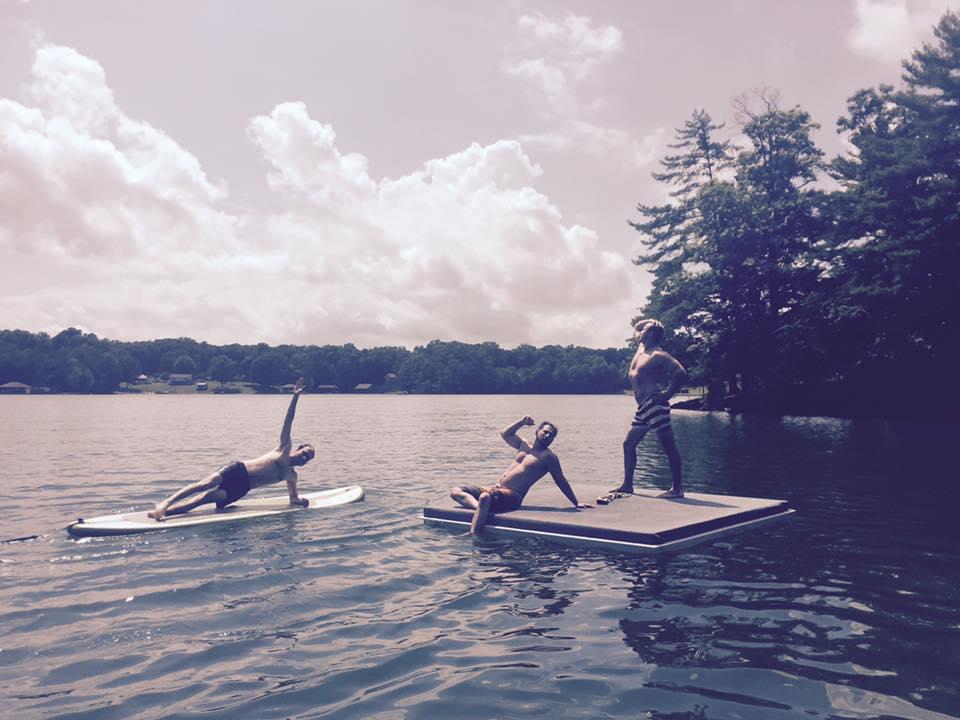Floating dock shenanigans.
