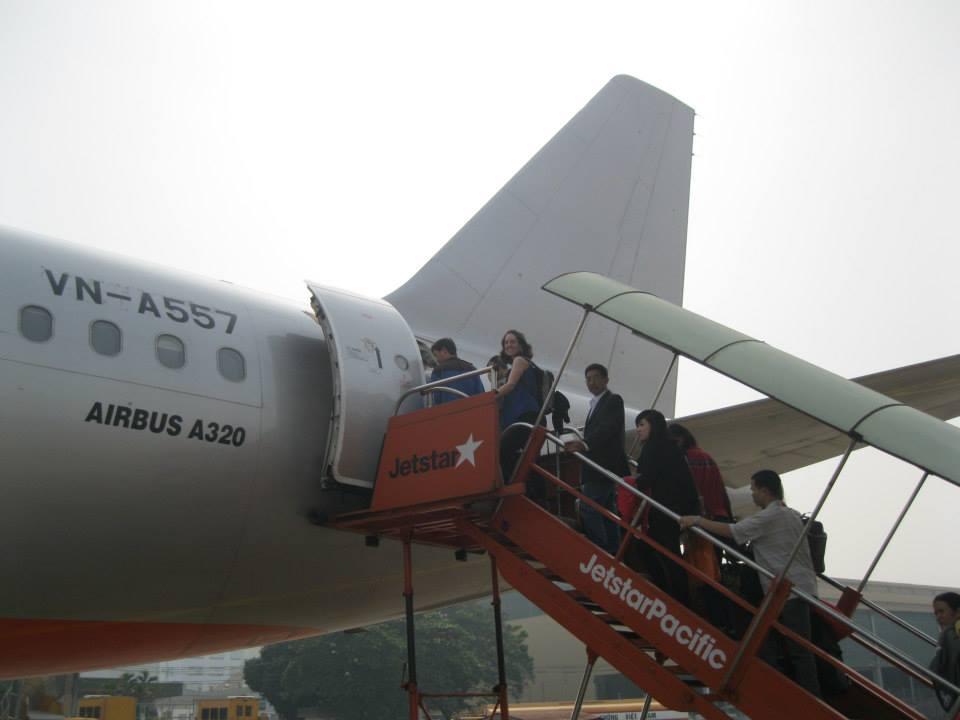 flight to hanoi