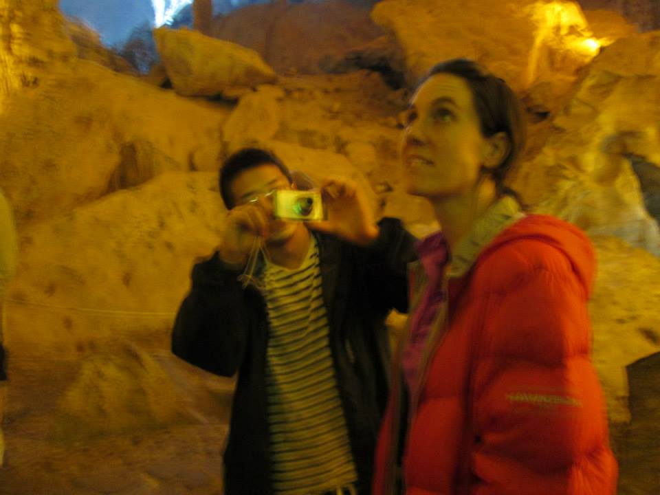 Note - when in Vietnam it is important to have a camera that will take decent cave photos.