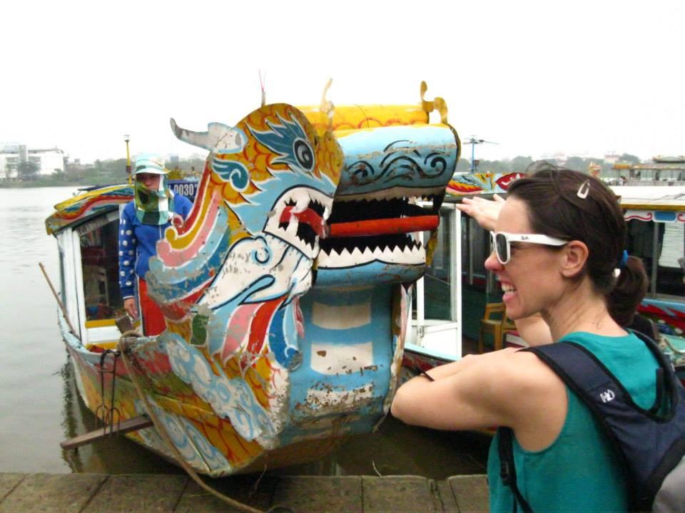 dragon boat - Hue, Vietnam