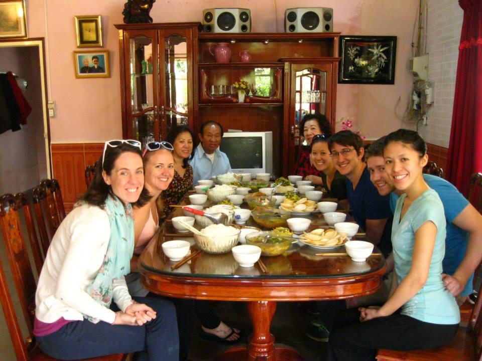 family lunch - Dalat, Vietnam
