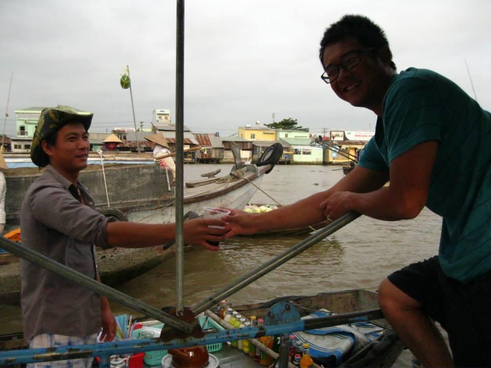 Starbucks of the mekong delta.