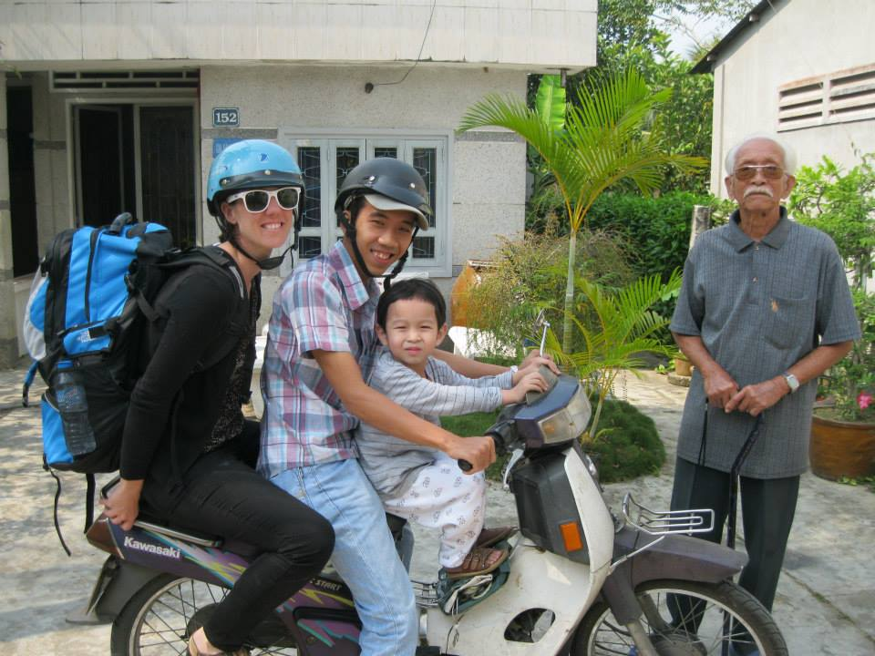 Rach Gia, Vietnam - motorcycle