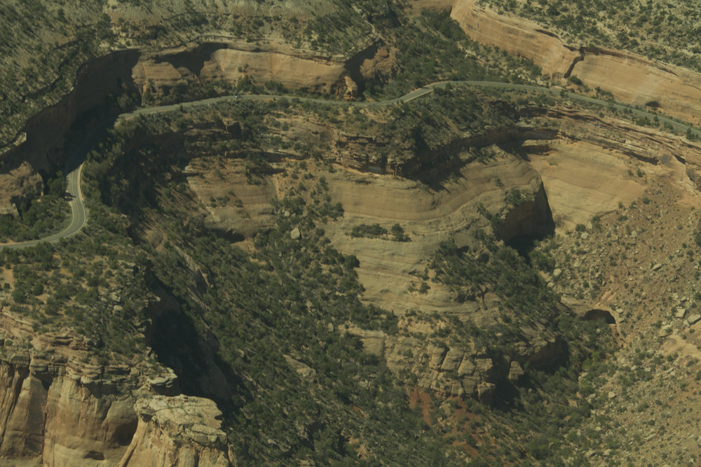 Colorado National Monument from above