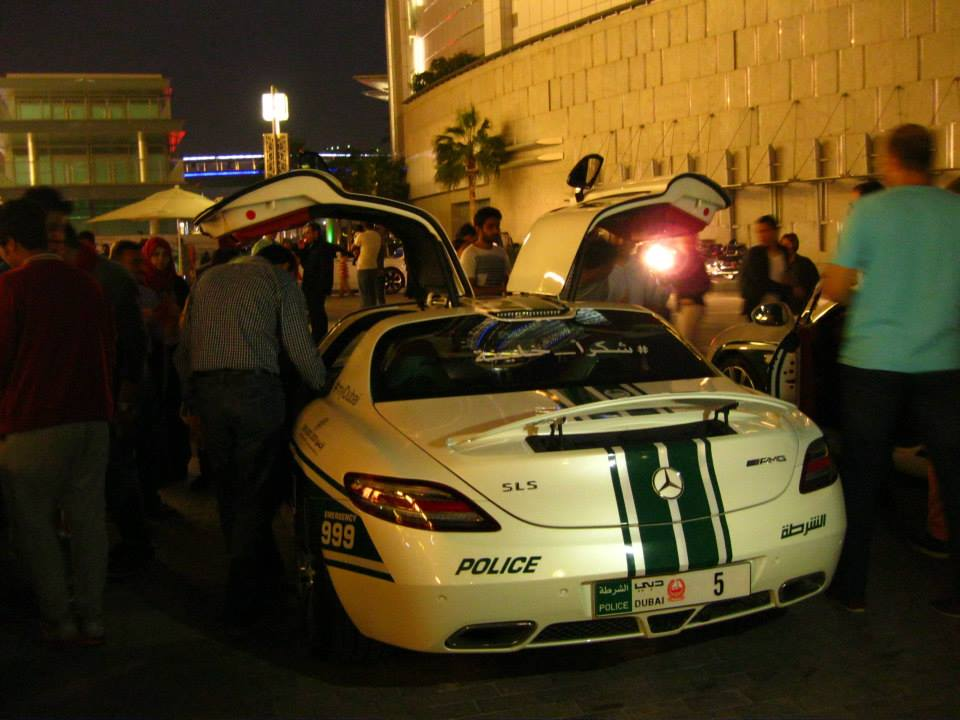 Cops in Dubai apparently drive Mercedes.
