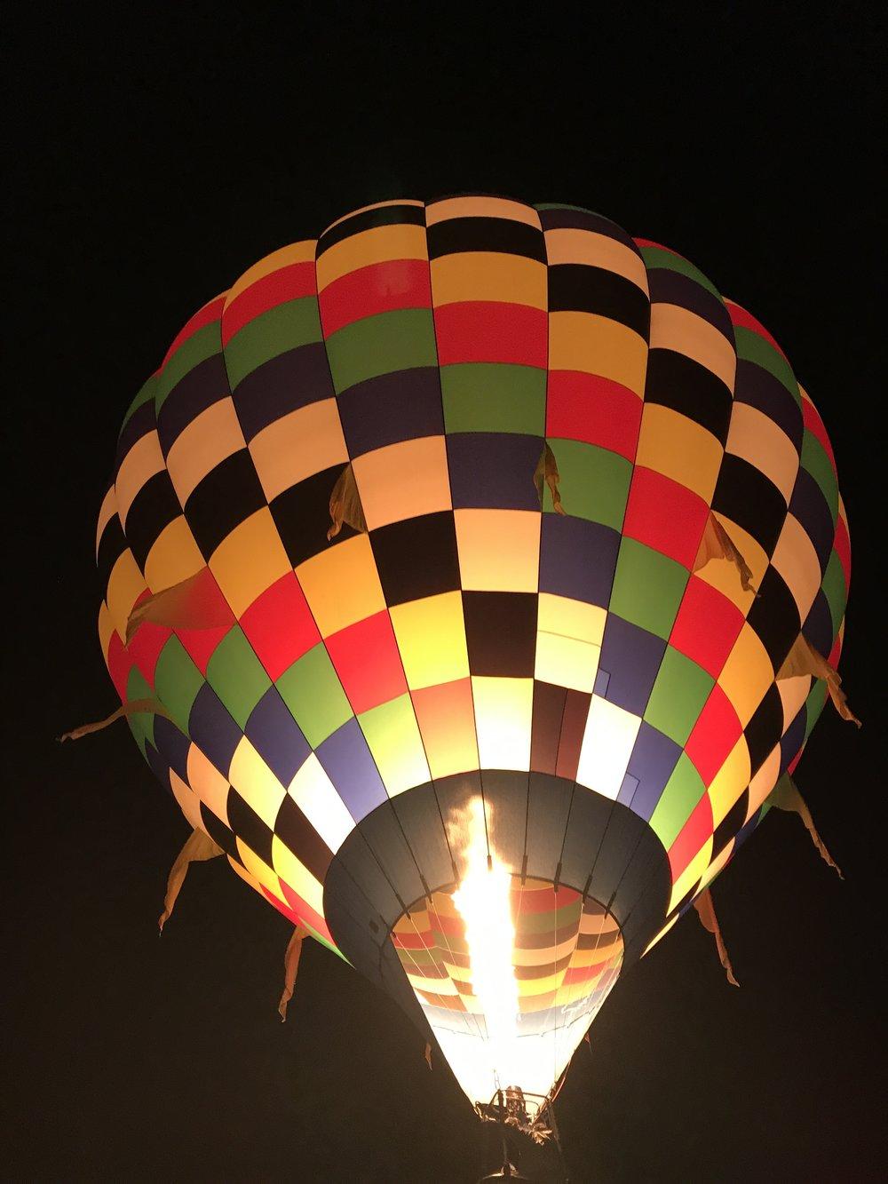 Balloon Glow - Albuquerque Balloon Fiesta