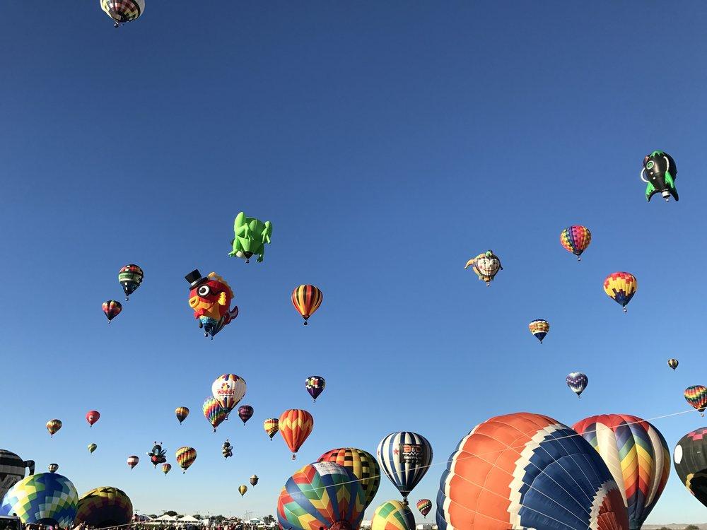 Albuquerque, NM - Hot Air Balloon Fiesta