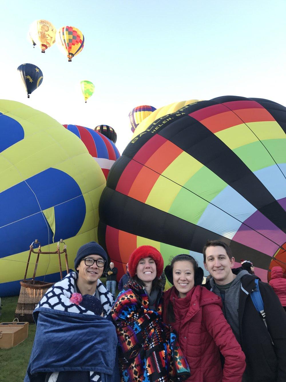 Albuquerque, New Mexico - Hot Air Balloon Fiesta