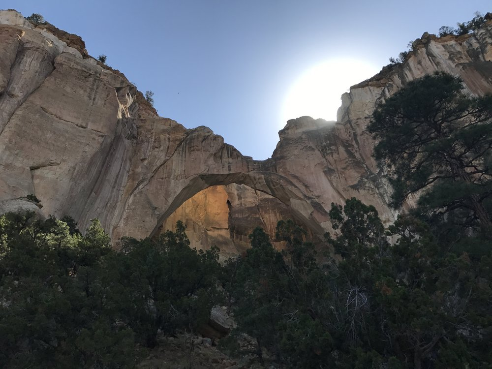 El Malpais Arch - New Mexico