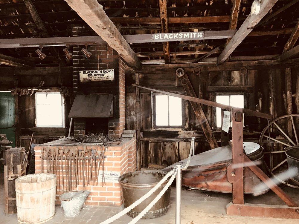 Amish Blacksmith Shop