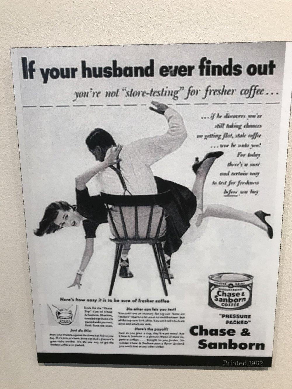 Spanking advertisement - aSHEville museum
